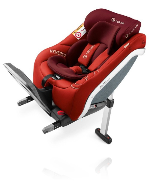 Concord Reverso Plus I-Size Isofix цвет Flaming Red