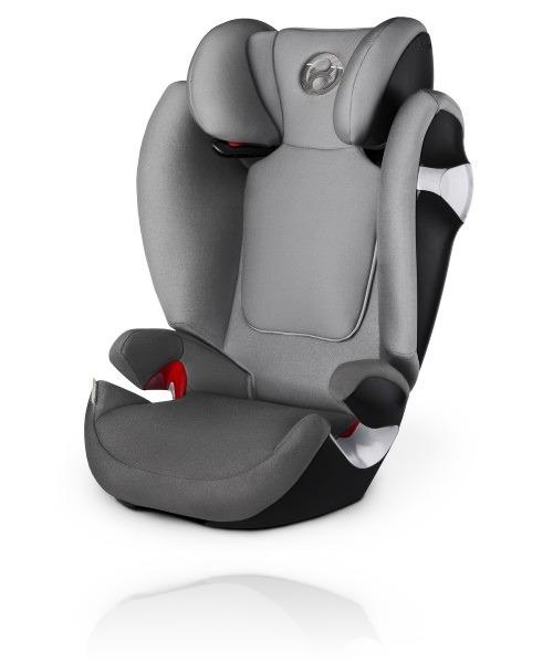 Cybex Solution M 2017 цвет Manhatten Grey