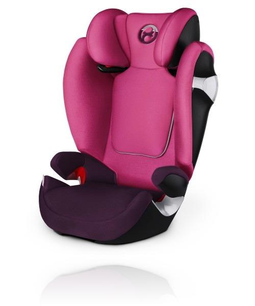Cybex Solution M 2017 цвет Mystic Pink