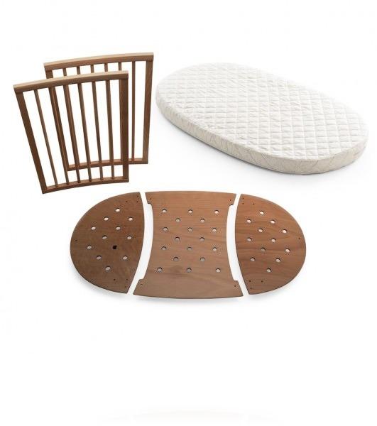 Комплект для кровати Stokke Sleepi цвет Walnut Brown