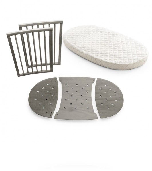 Комплект для кровати Stokke Sleepi цвет Hazy Grey