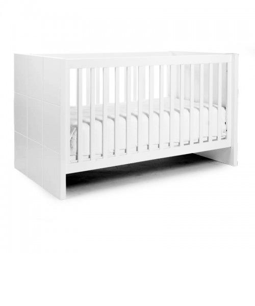 Детская кроватка Childhome QUADRO WHITE COT BED
