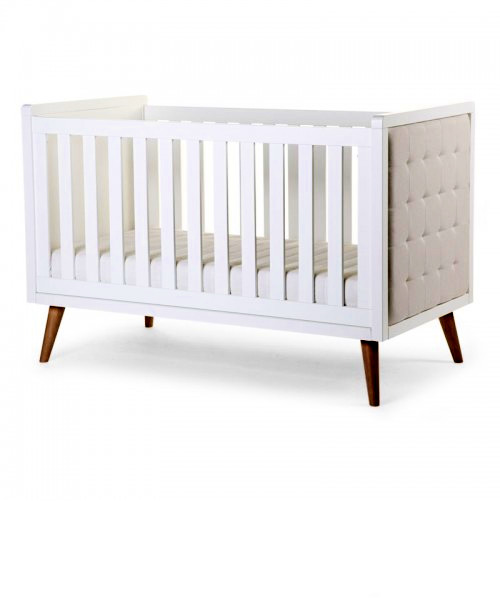 Детская кроватка Childhome RETRO RIO WHITE COT BED