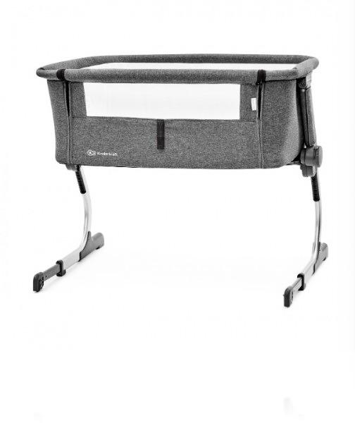 Кроватка Kinderkraft UNO колір Grey