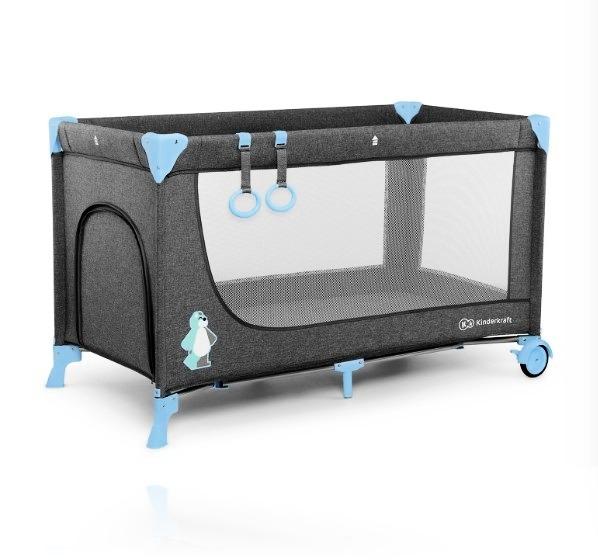 Ліжечко - манеж Kinderkraft JOY колір Blue