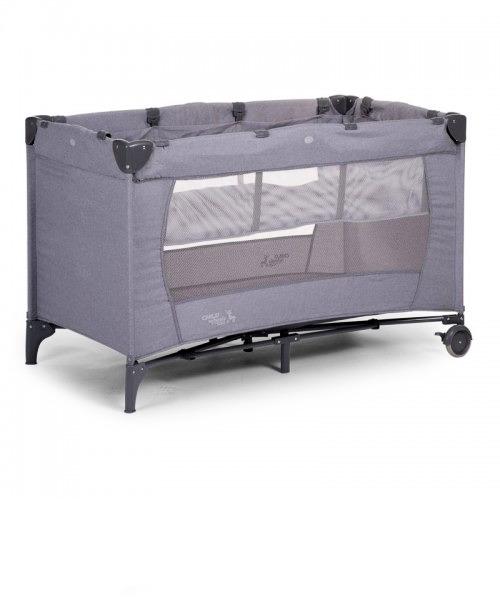 Манеж-кроватка Childhome Canvas цвет Light Grey
