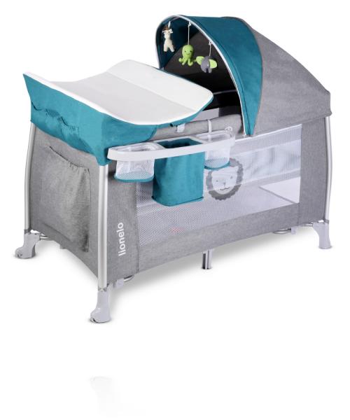 Кровать-манеж Lionelo Simon цвет Ocean