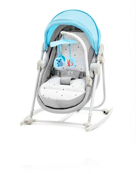 Шезлонг 5в1 Kinderkraft UNIMO колір LIGHT BLUE