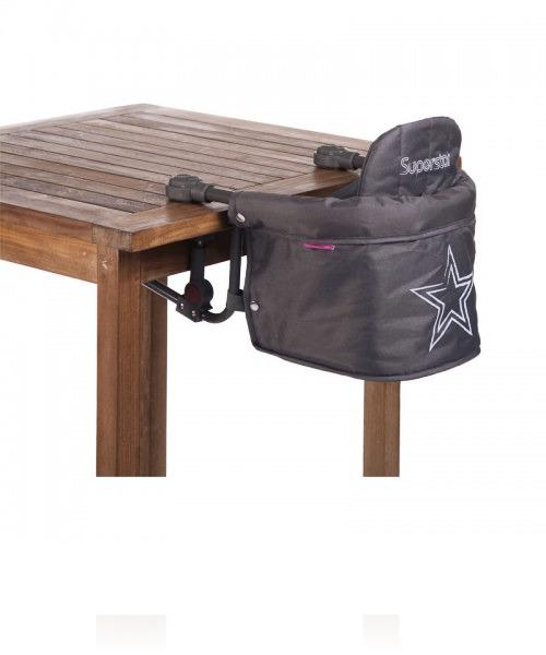 Стульчик для кормления Child Wood Table Hanger цвет Anthracite