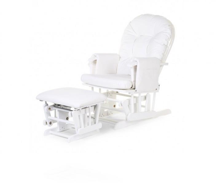 Кресло Childhome Gliding Chair Round цвет White