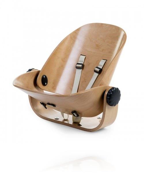 Сиденья для новорожденного Childhome EVOLU NEWBORN SEAT цвет Natural/Anthracite
