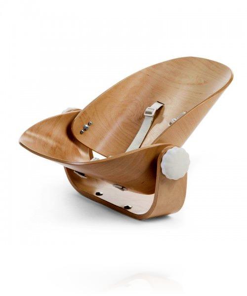 Сиденья для новорожденного Childhome EVOLU NEWBORN SEAT цвет Natural/White