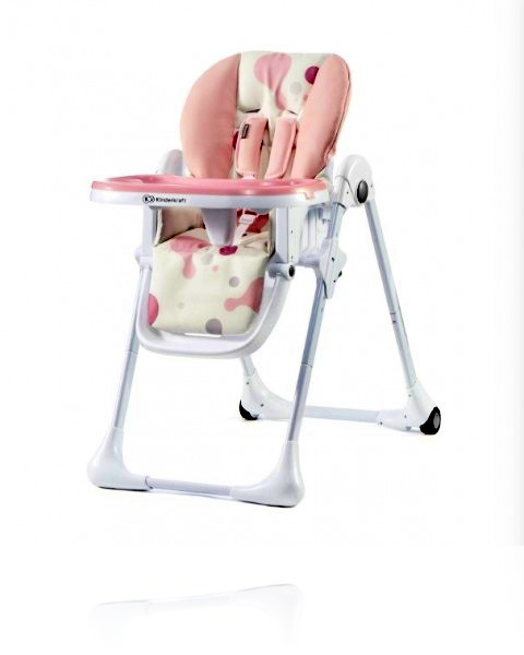 Крісло для годування Kinderkraft YUMMY колір Pink