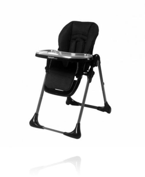 Крісло для годування TITANIUM BABY DELUXE колір Graphite Grey