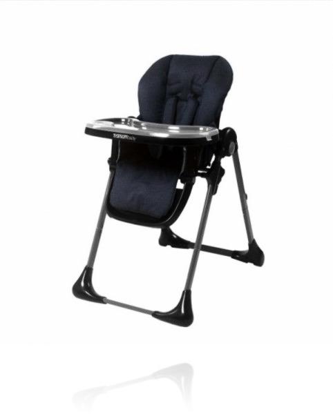 Крісло для годування TITANIUM BABY DELUXE колір Denim Blue
