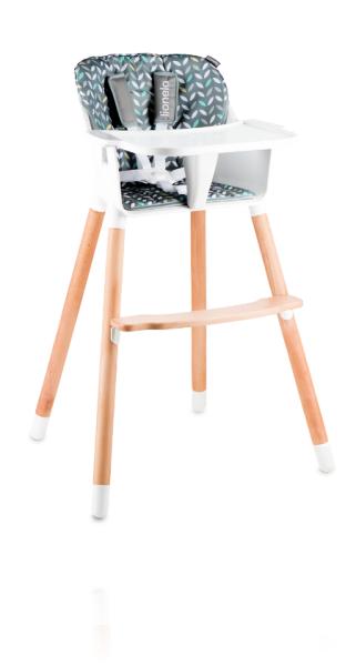 Кресло для кормления Lionelo Koen цвет YELLOW/GREY
