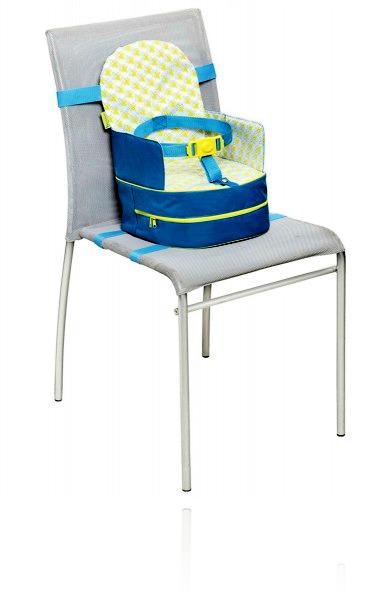 Туристическое кресло-рюзказ 2в1 Badabulle blue