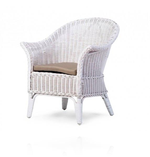 Плетеное кресло Childhome Mimo цвет White