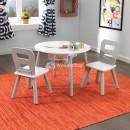 Круглий стіл і 2 крісла