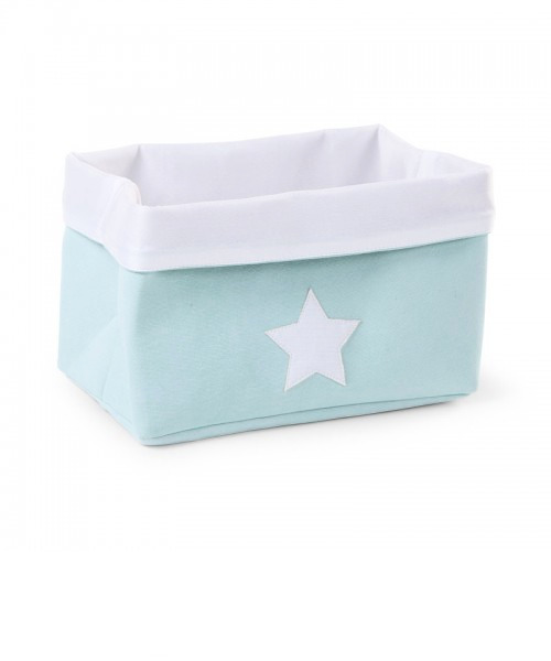 Ящик для игрушек Child Wood Canvas Box цвет Mint White