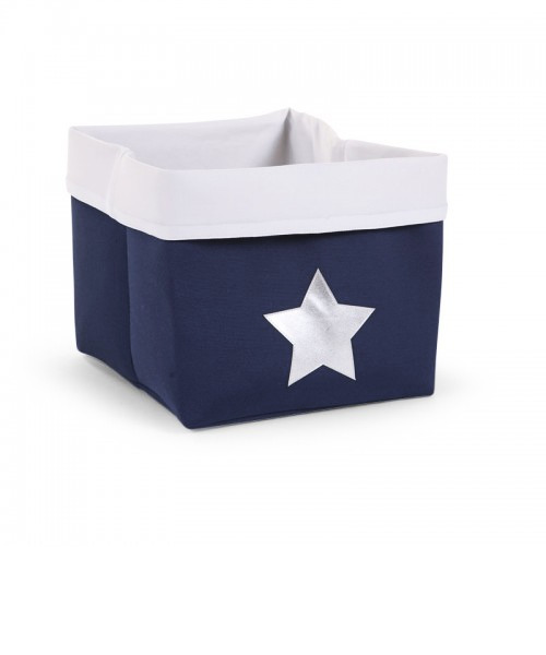 Ящик для игрушек Child Wood Canvas Box Foldable цвет Dark Blue
