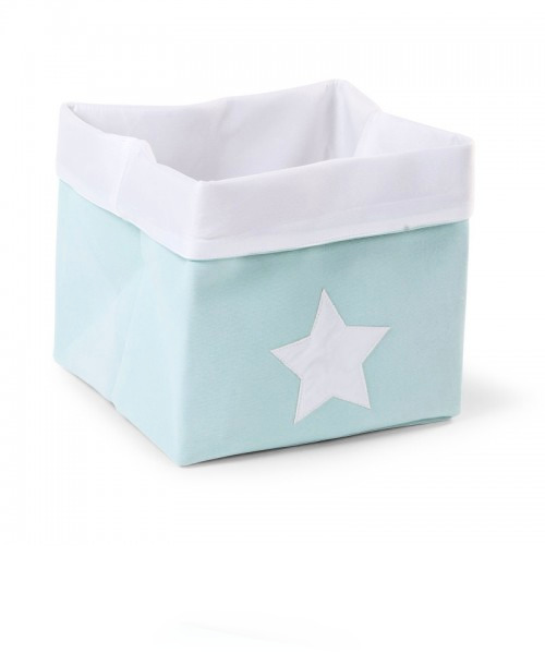 Ящик для игрушек Child Wood Canvas Box Foldable цвет Mint White