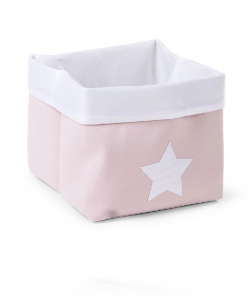 Ящик для игрушек Child Wood Canvas Box Foldable цвет Pink White