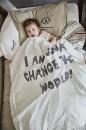 Детская постель Elodie Details 2020 года цвет  Change the World