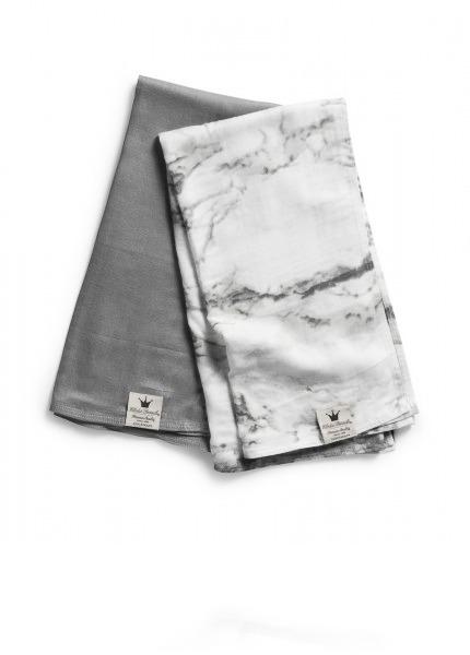 Плед бамбуковый Elodie Details цвет Marble Grey