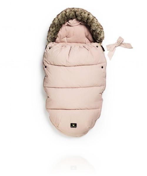 Зимний конверт Elodie Details с мехом цвет Powder Pink