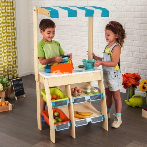 Деревянный прилавок KidKraft Grocery Stand 53017