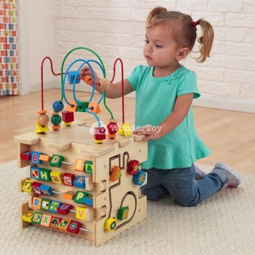 Образовательный куб XXL - Kidkraft Activity Cube 63298