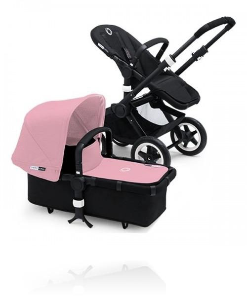 Bugaboo Buffalo Black цвет Soft Pink