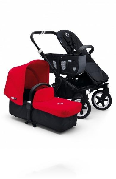 Bugaboo Donkey Mono Black цвет Red