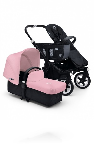Bugaboo Donkey Mono Black цвет Soft Pink