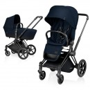 Cybex Priam Lux шасси Black 2017 цвет Midnight Blue