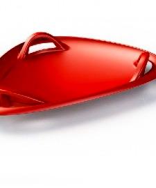 Санки-тарілка Plastkon METEOR 70 колір Red