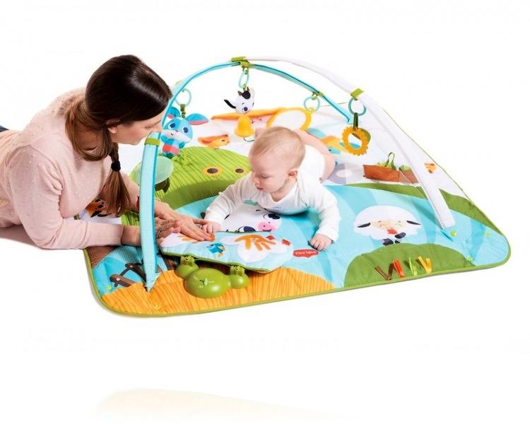 Развивающий коврик Tiny Love Kick & Play Веселая ферма