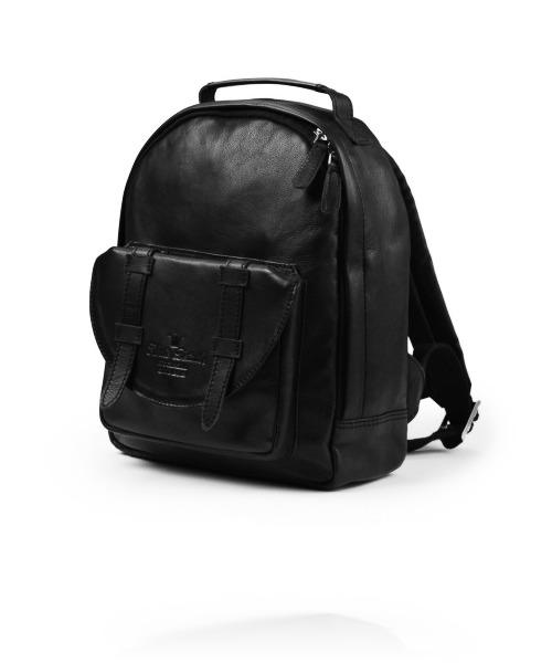 Рюкзак Elodie Backpack Mini Black Leather