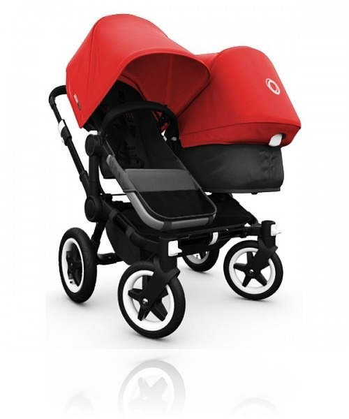 Bugaboo Donkey Duo Black цвет Red