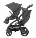 Прогулочная коляска для двойни Baby Style Egg Tandem Quantum Grey